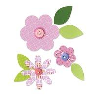 Sizzix Bigz Die Flowers Layers & Leaves Stanzschablone