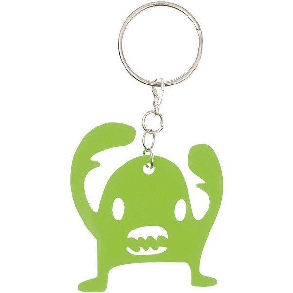 Jewellery Made by Me Anhänger Monster grün 45x50mm