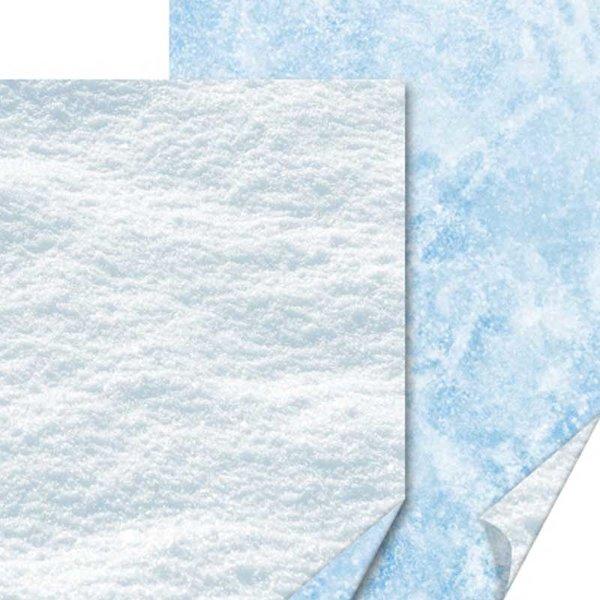 HEYDA Motivkarton Schnee 50x70cm 300g/m²