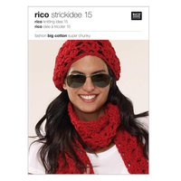 Rico Design Strickidee Nr.15 Fashion Big Cotton super chunky