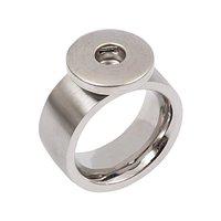 Rico Design Ring bombiert Edelstahl 21mm