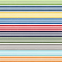 MyMindsEye Scrapbooking Bogen Under the Sea Swimmingly Stripe 30,5x30
