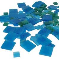 Rico Design Tiffany-Mosaiksteine 20x20mm 200g ca. 72 Steine