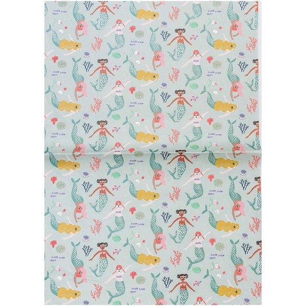 Rico Design Paper Patch Papier Mermaid Meerjungfrauen 30x42cm