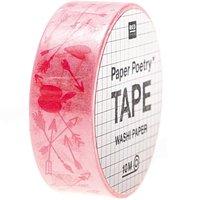 Paper Poetry Tape It must be love Pfeile 1,5cm 10m