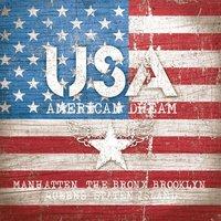 Ambiente Serviette american dream 33x33cm 20 Stück