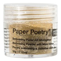 Paper Poetry Embossingpuder Classic gold 10g
