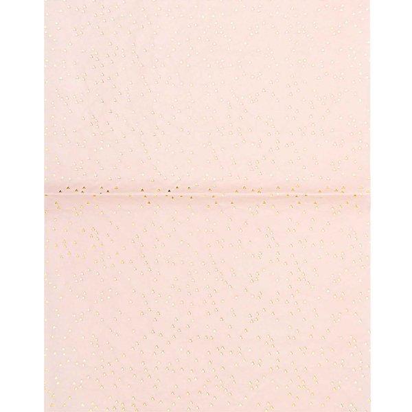 Rico Design SB Paper Patch Papier Dreiecke gold 30x42cm 3 Bogen Hot Foil