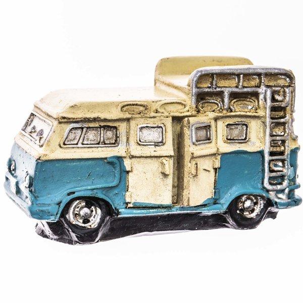 Campingbus gelb-blau 6x3cm