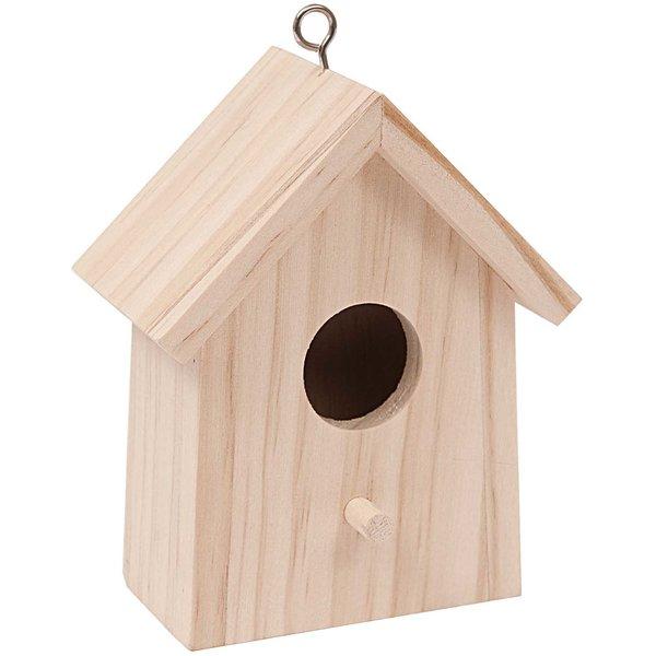 Rico Design Vogelhaus mini 7,5x5,5x10,5cm
