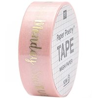 Paper Poetry Tape Wochentage 1,5cm 10m