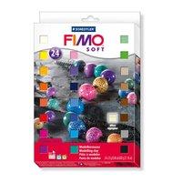 Staedtler FIMO Soft Set 24 Halbblöcke je 25g