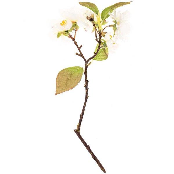 Kirschblütenzweig weiß 26cm