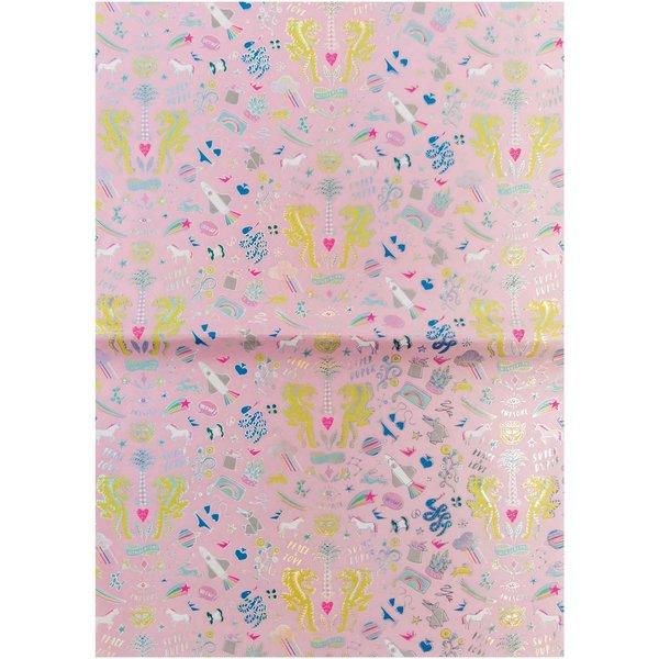 Rico Design Paper Patch Papier Wonderland pink 30x42cm