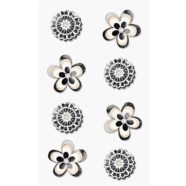 Paper Poetry 3D Sticker Blumen