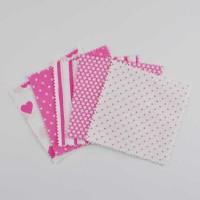 Rico Design Stoffpaket Mix15 13,5x13,5cm 20 Stück