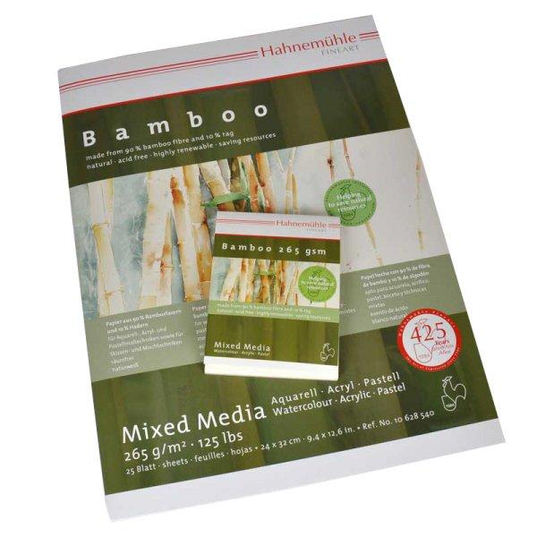 Hahnemühle Block Bamboo Mixed Media 265g/m² 25 Blatt
