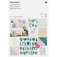 Paper Poetry Motivpapier Block Hygge DIN A3 20 Blatt