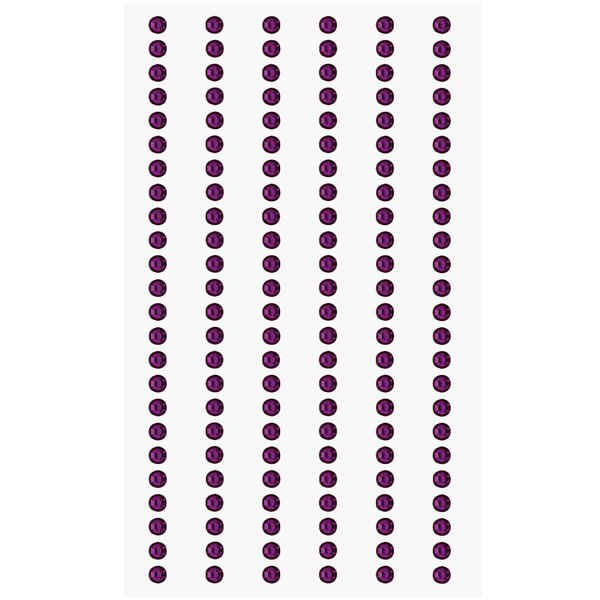 Paper Poetry Strass-Sticker violett 3mm