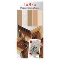 Nice Papers Papierstreifen natur 3x33cm 150 Stück