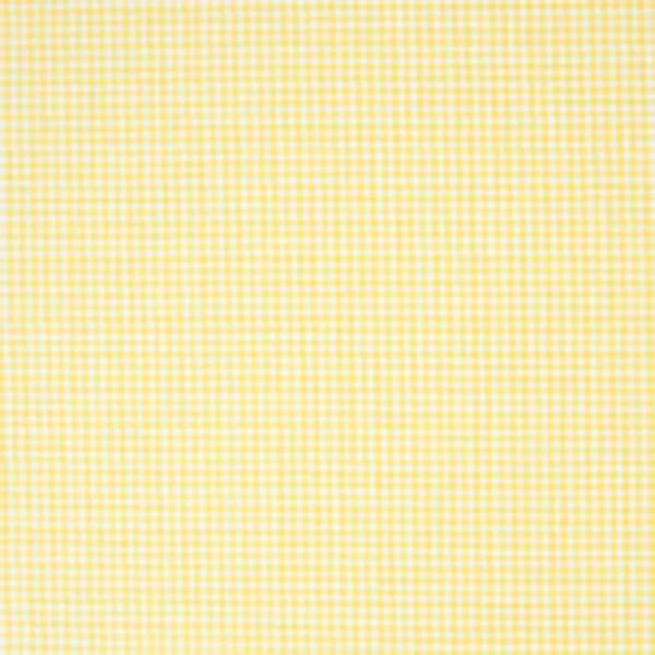 Rico Design Stoff weiß-gelb kariert 50x55cm