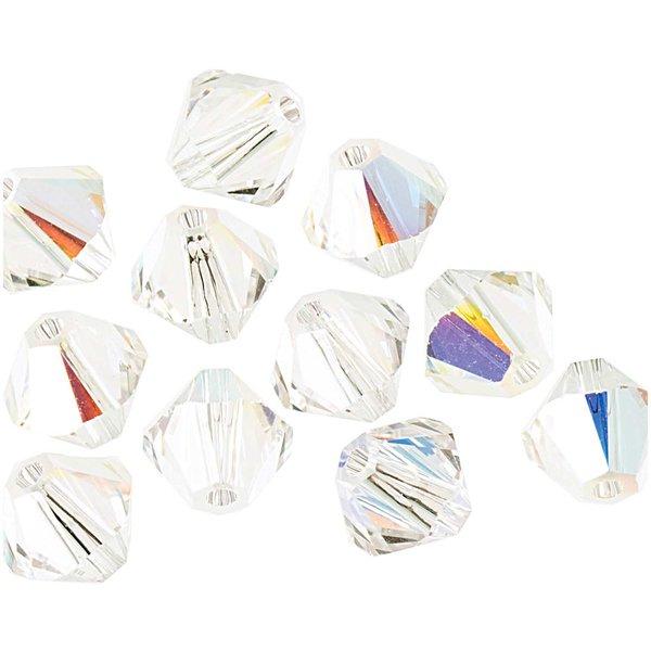 Swarovski® Glasschliffperle crystal AB 6mm 12 Stück