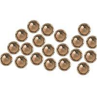 Swarovski® Klebesteine greige 2mm 20 Stück