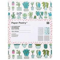 Paper Poetry Notizbücher Plants A6 40 Seiten 2 Stück