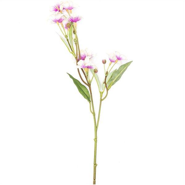 Schlüsselblumenzweig weiß-pink 40cm