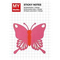 Rico Design Sticky Notes Schmetterling 50 Stück