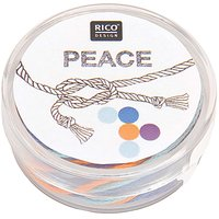 Rico Design Freundschaftsarmband peace Ø=4,5cm