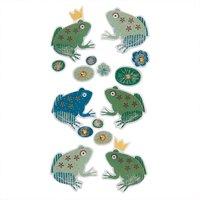 Paper Poetry 3D Sticker Frösche