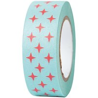 Paper Poetry Tape Christmas rote Sterne 15mm 10m