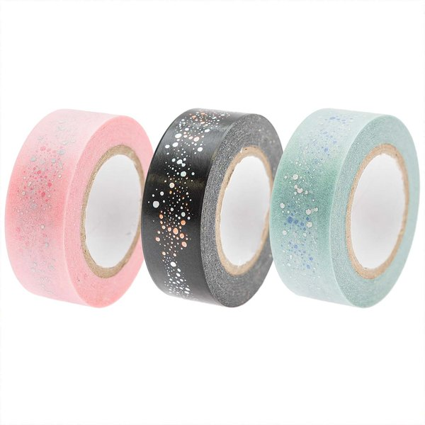 Paper Poetry Tape Mermaid Bubbles 1,5cm 10m
