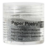 Paper Poetry Embossingpuder Classic silber 10g
