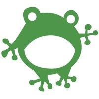 Rico Design Appliqué Frosch grün 9,6x8,4cm