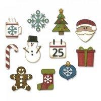 Sizzix Thinlits Die Set Mini Christmas Things by Tim Holtz