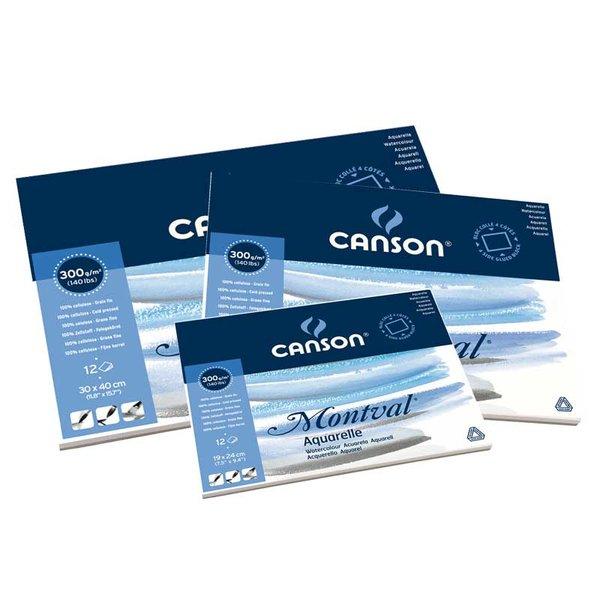 Canson Montval Aquarell Block 12 Blatt