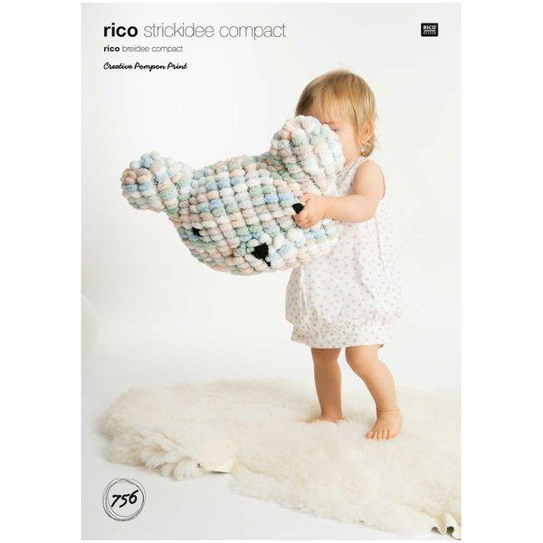 Rico Design Strickidee compact Nr.756 Pompon Print