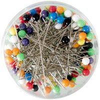 Rico Design Pins mehrfarbig mix 100 Stück