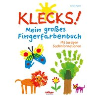 Christophorus Verlag Klecks! Mein großes Fingerfarbenbuch