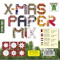 Nice Papers Papier Mix X-MAS 12 Designs 15x15cm 128 Blatt