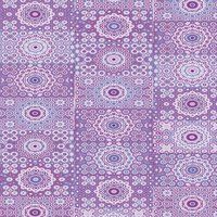 décopatch Papier Kreisornamente violett 3 Bogen