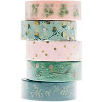 Paper Poetry Tape Set Classical Christmas 1,5cm 10m 5 Stück