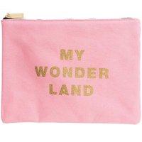 Paper Poetry Textil Tasche Wonderland rosa 21x28cm