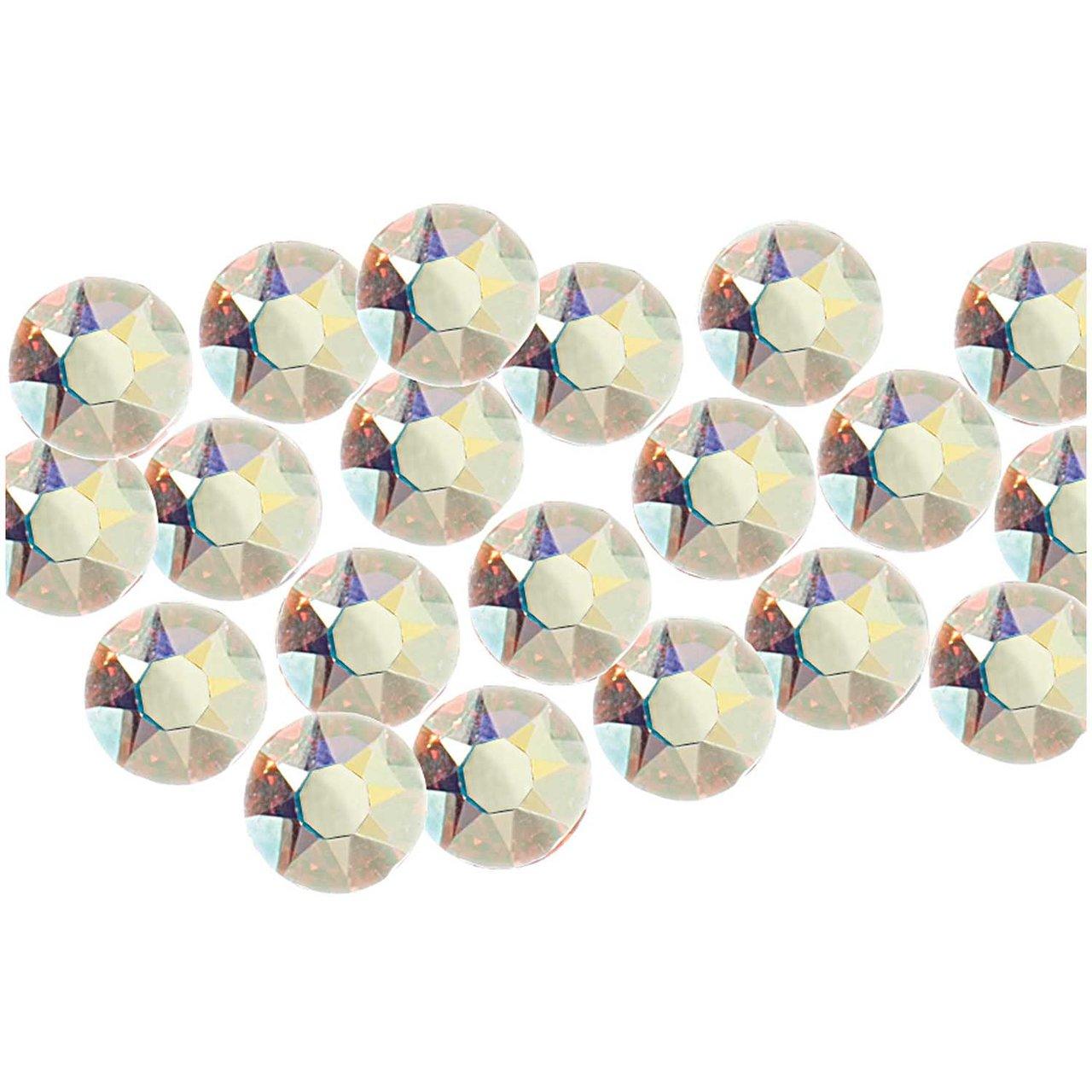 Swarovski® Hot Fix Steine crystal AB 4mm 20 Stück
