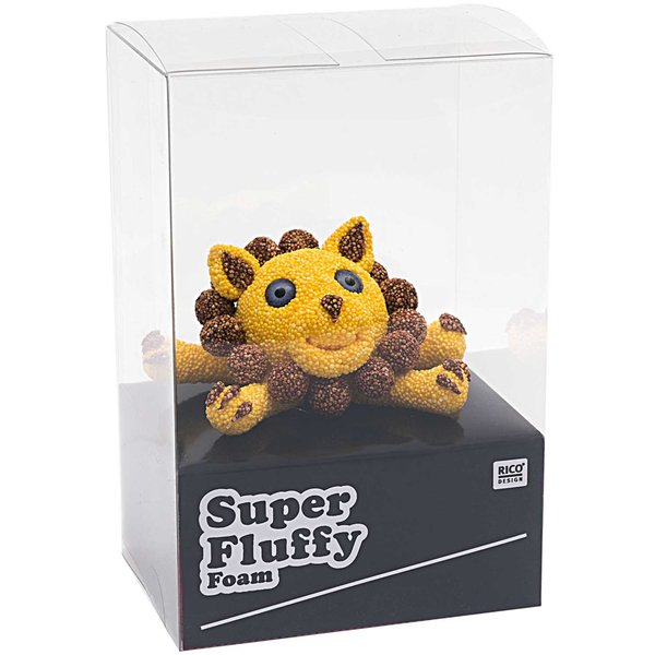 Rico Design Super Fluffy Foam Löwe Model 10,2x5,1x7,8cm