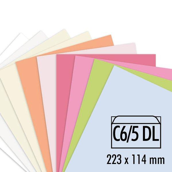 Artoz Perga pastell Kuverts C6/5 100g/m² 5 Stück