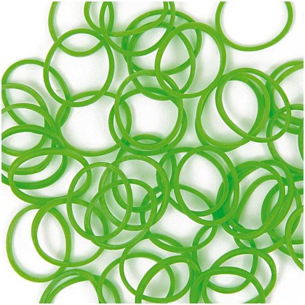 Jewellery Made by Me Loom Bänder grün ca. 200 Stück