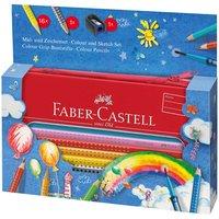 Faber Castell Colour Grip Mal- und Zeichenset